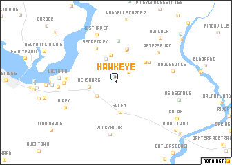 map of Hawkeye