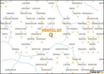 map of Hawngluk