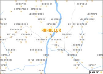 map of Hawnglük