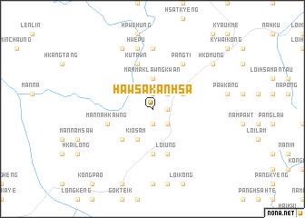 map of Haw Sakanhsa
