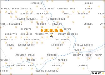 map of Hdidouiene