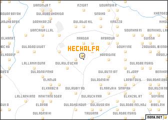 map of Hechalfa