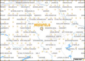 map of Heedfeld