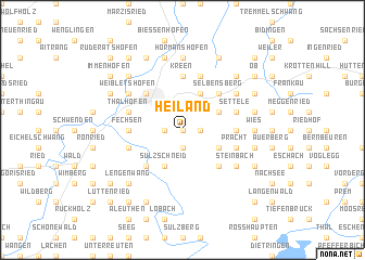 map of Heiland