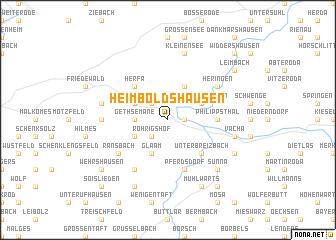 map of Heimboldshausen