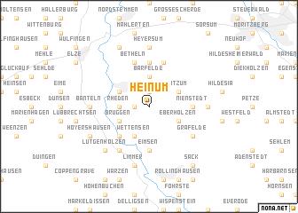 map of Heinum