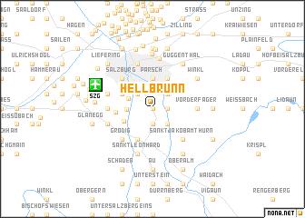 map of Hellbrunn