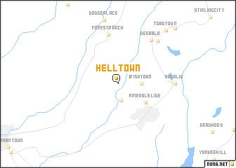 map of Helltown
