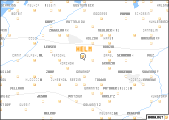 map of Helm