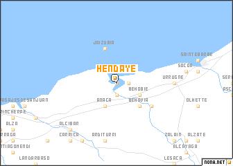 Hendaye France Map.Hendaye France Map Nona Net