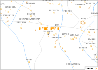 map of Hengū\