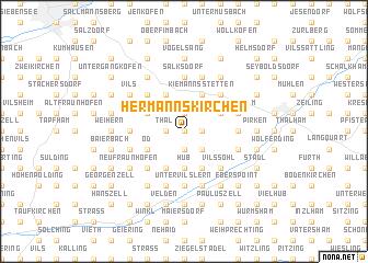 map of Hermannskirchen