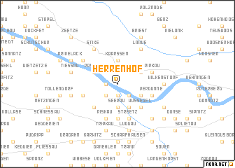 map of Herrenhof