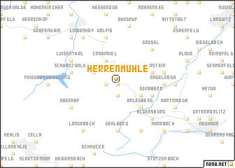 map of Herrenmühle