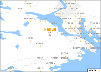 map of Herum