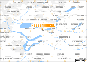 map of Hessenwinkel