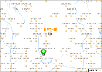 map of Hethin