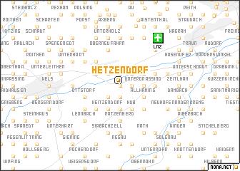 map of Hetzendorf