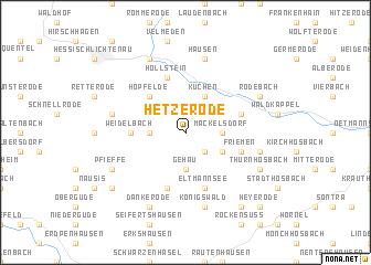 map of Hetzerode