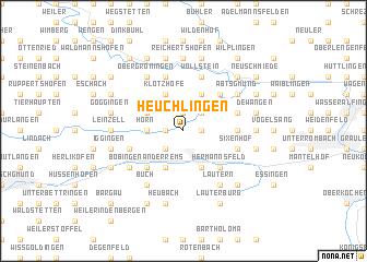 map of Heuchlingen