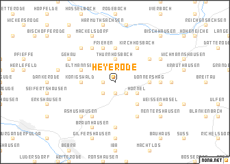 map of Heyerode
