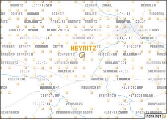 map of Heynitz