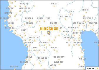 map of Hibaguan
