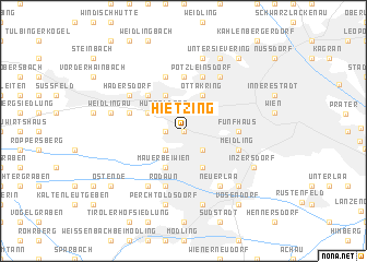 map of Hietzing