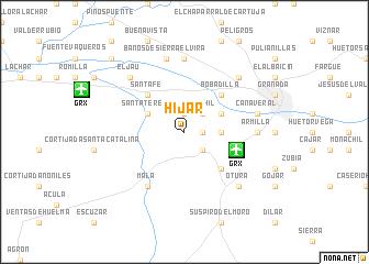 map of Híjar