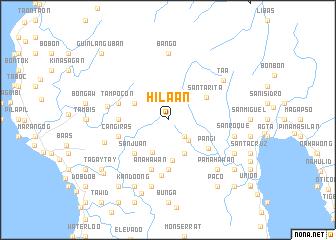 map of Hilaan