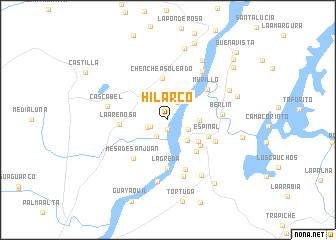 map of Hilarco