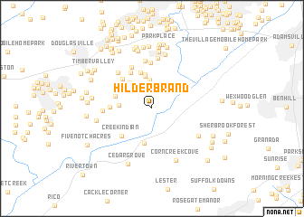 map of Hilderbrand