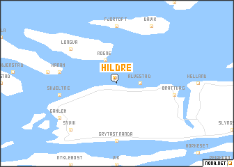map of Hildre