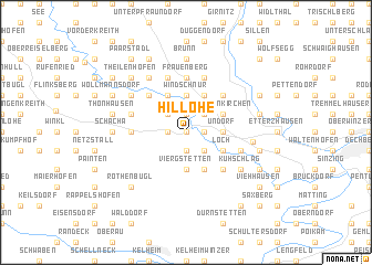 map of Hillohe