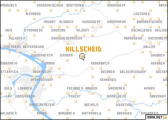 map of Hillscheid