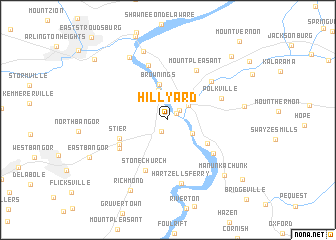map of Hill Yard