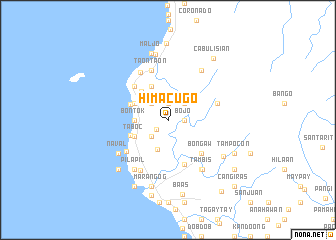 map of Himacugo