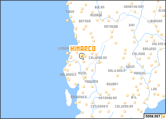 map of Himarco