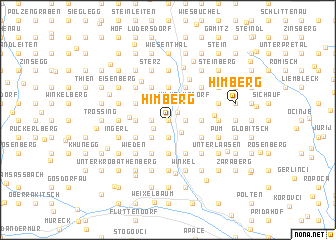 map of Himberg