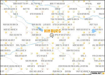 map of Himburg