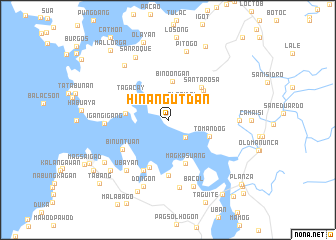 map of Hinangutdan