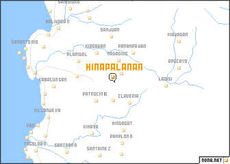 map of Hinapalanan