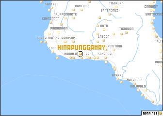 map of Hinapunggamay