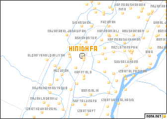 map of Hinidhfā