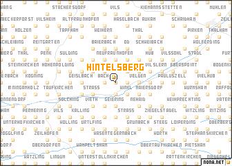 map of Hintelsberg