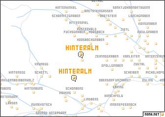 map of Hinteralm