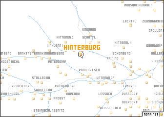 map of Hinterburg