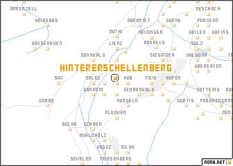 map of Hinterer Schellenberg