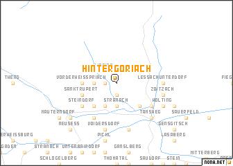 map of Hintergöriach