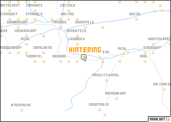 map of Hintering